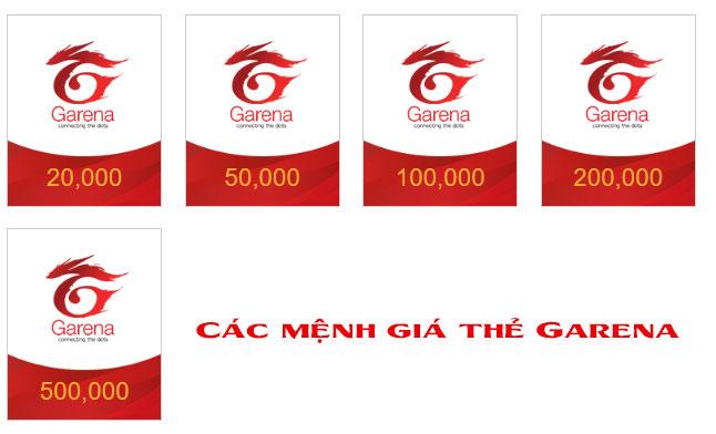 Thẻ Garena